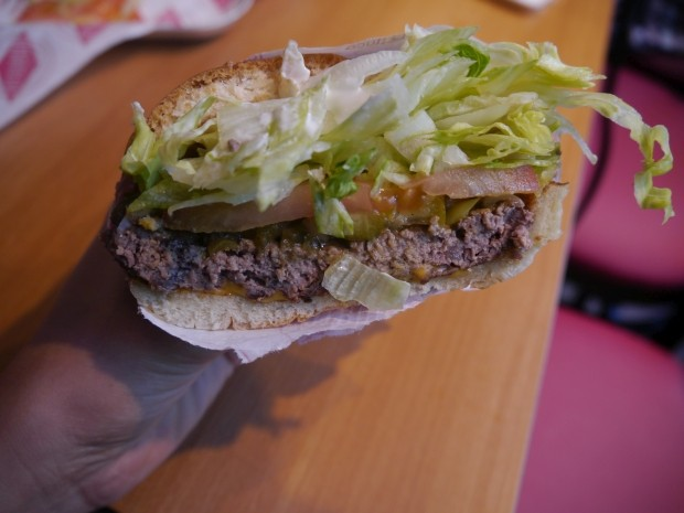 1/2 Single Fatburger