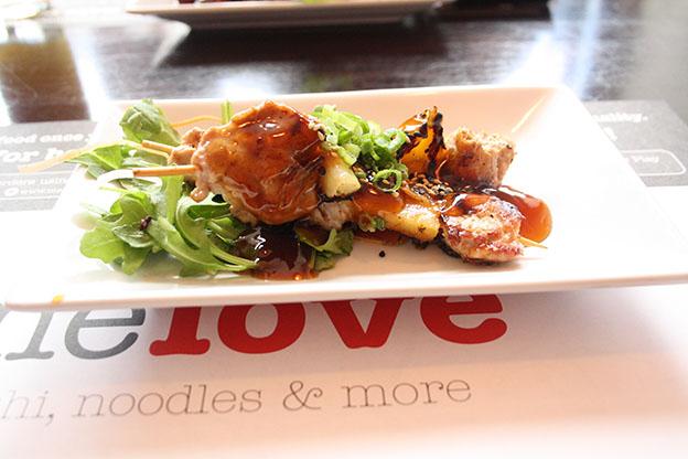 ChickenPineaaple Kushiyaki