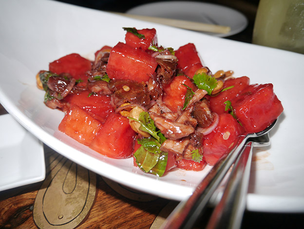 Duck & Watermelon Salad