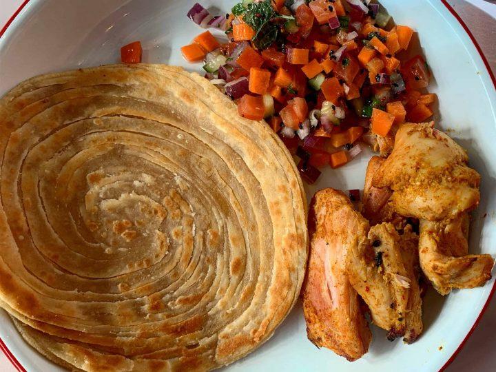 Chicken Tikka Plate Shola Kitchen Halal Cheap Eats