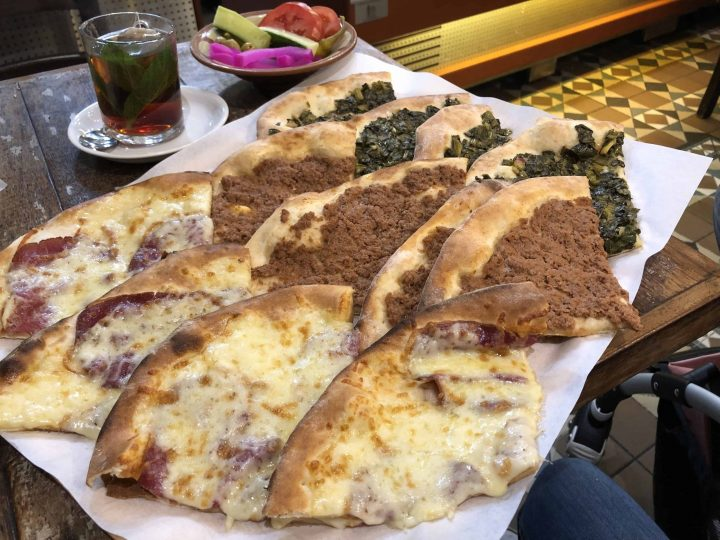 Halal Cheap eats Damascene Bakery Various Manousheh