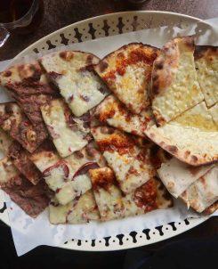 Zeit and Zaatar Various Manakish £10 Halal Cheap Eats