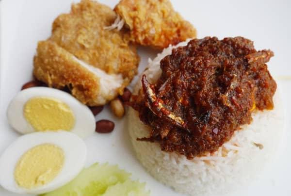 Tukdin Nasi Lemak £7.90 HALAL CHEAP EATS