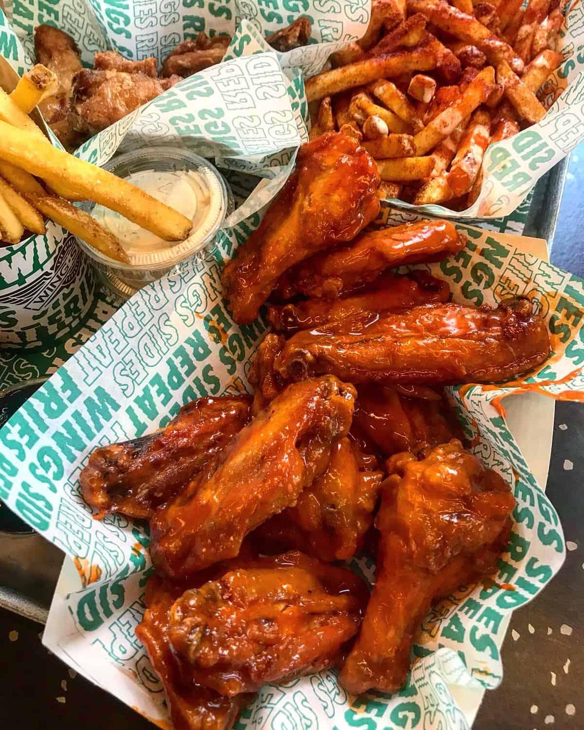Wingstop - Halal Chicken Wings in London