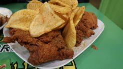The best Broasted halal Fried chicken