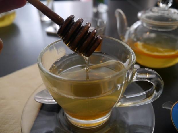 Orange Peel, Cinammon, and Mint Tea [£3.50]