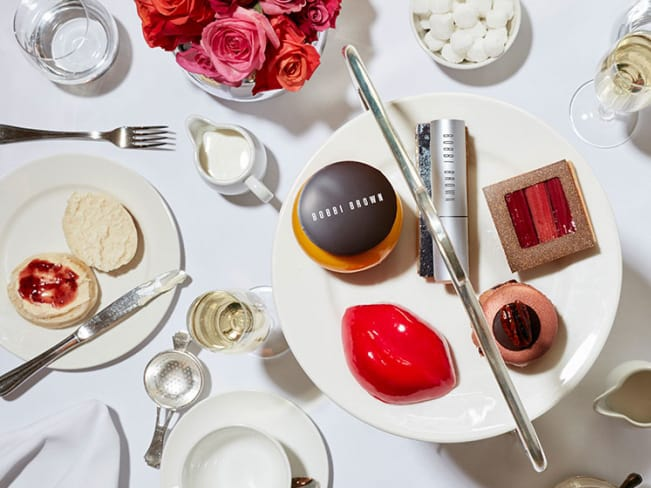 Halal Afternoon Tea London Bobbi Brown Balthazar
