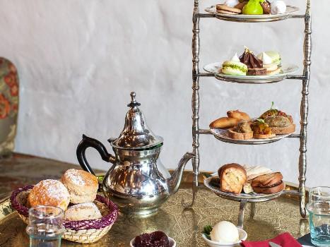Halal Afternoon Tea London Momo