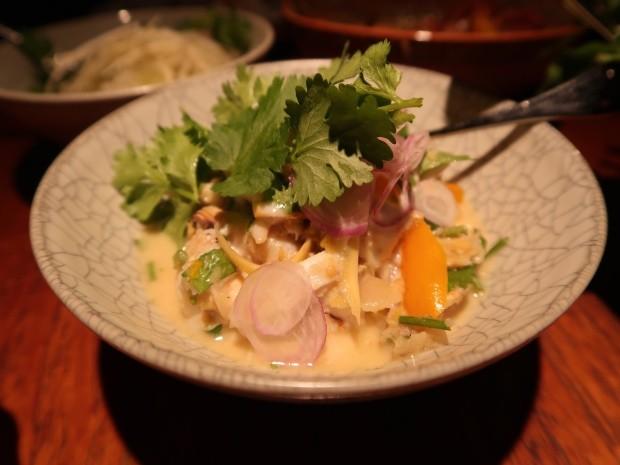 Coconut tumeric crab curry