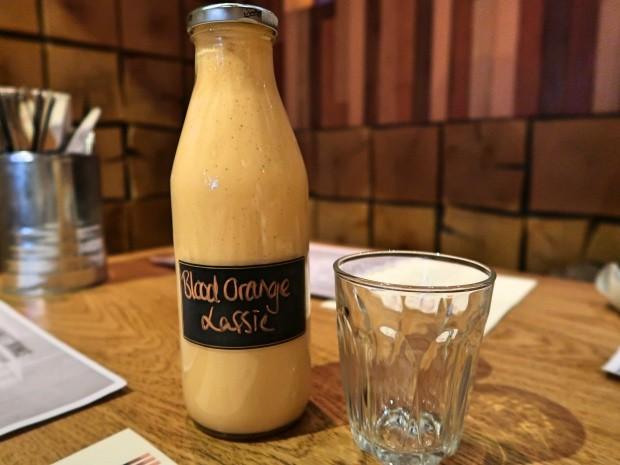 Blood Orange Lassi Hankies Cafe