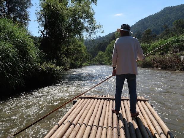Bamboo rafting chiang mai