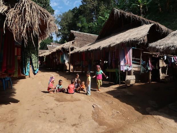 Karen Long Neck Tribe Children