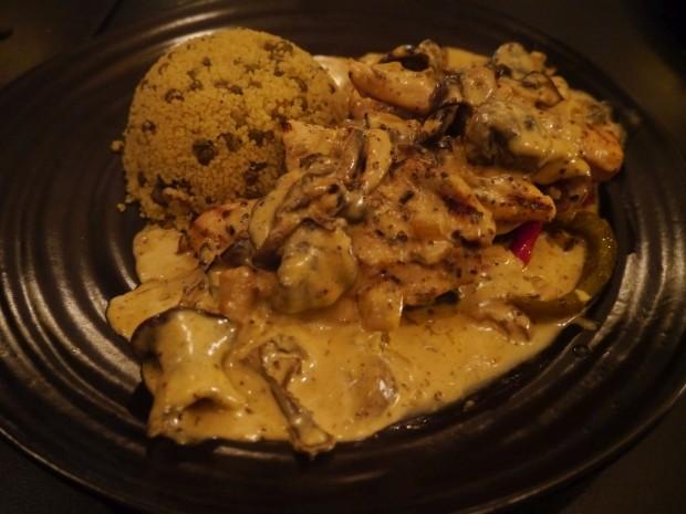 Mushroom Chicken Breast [£15.00]