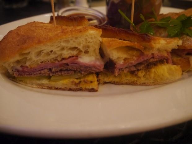 Close Up Cuban Sandwich