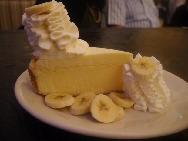 Banana Cream Cheesecake [AED34]