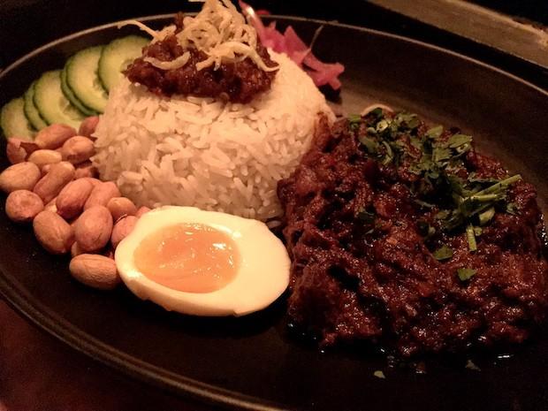 Nasi Lemak Rendang Daging [£13.00]