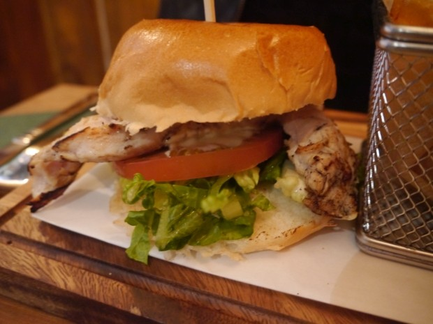 Chicken Burger [£6.50]