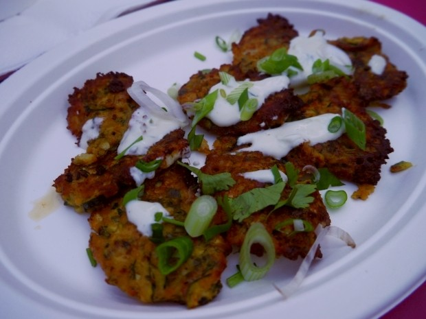 Herbed Zucchini and Feta Cheese Fritters