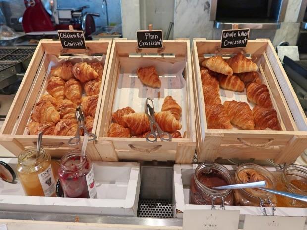 St Regis breakfast
