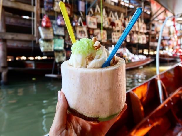 Coconut Ice Cream Thai