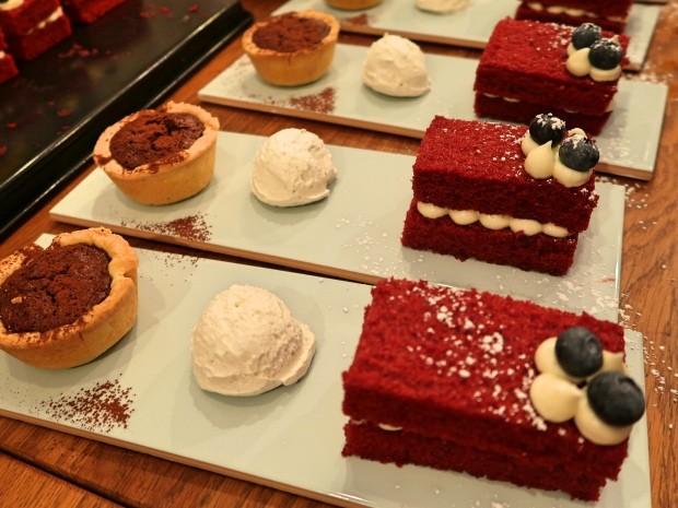Fire and Smoke Desserts