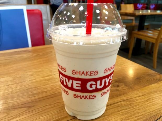 Peanut Butter Milkshake [AED25 ≈ £4.50]
