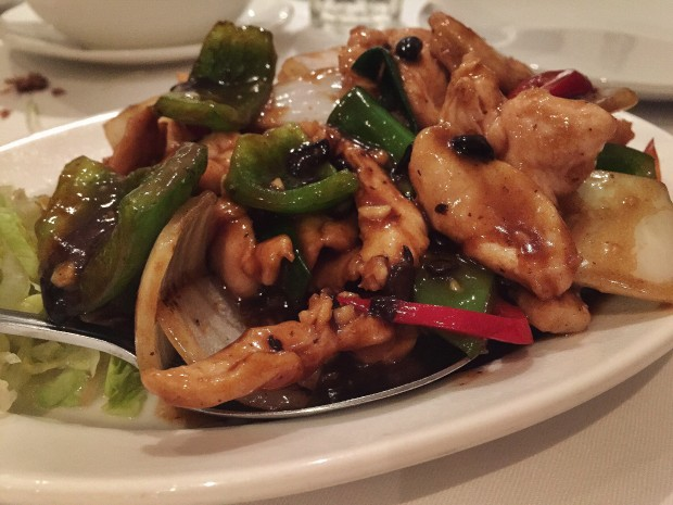 Chicken in Chilli and Black Bean Sauce [£8.80]