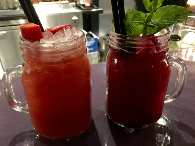 Berry & Apple Virgin Mojitos [AED60]