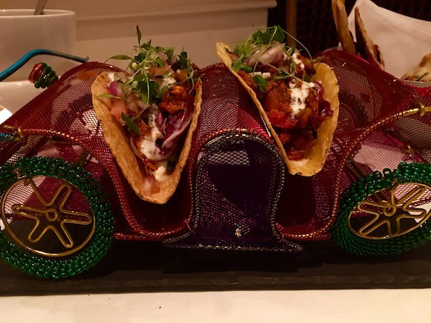 Pulled Chicken Tacos [£8.50]