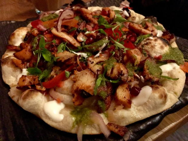 Chicken Tikka Naan [£7.90]