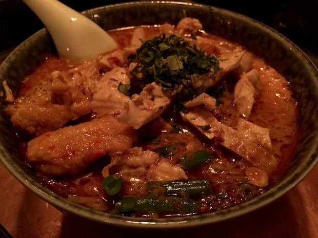 Kari Laksa Ayam [£11.50]