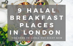 HALAL BREAKFAST PLACES