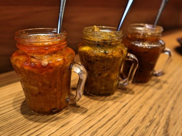 Hankies Cafe Achar Chutneys