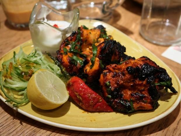 Hankies Cafe Jaggery Chicken