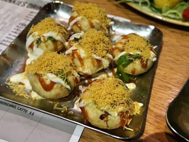 Hankies Cafe Dahi Puri