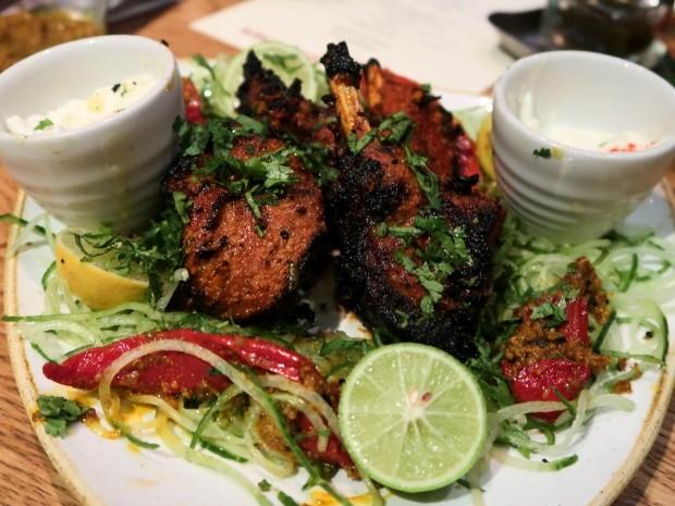Hankies Cafe Lamb Chops