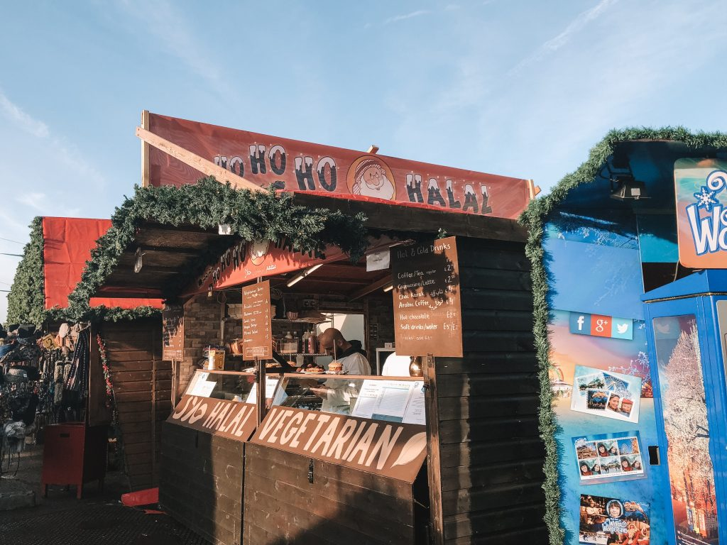 Halal Options at Winter Wonderland