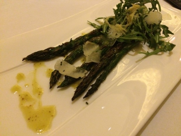 Grilled Asparagus [£11.00]