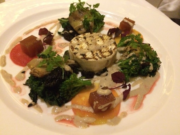 Warm Goat Cheese Salad [£10.00]