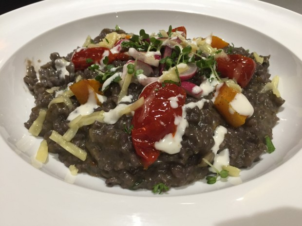 Squid Ink Risotto [£11.00]