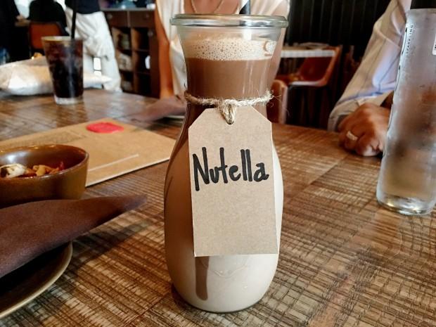 Nutella Shake [25AED ~ £4.75]