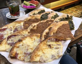 Halal Cheap eats Damascene Bakery Various Manousheh
