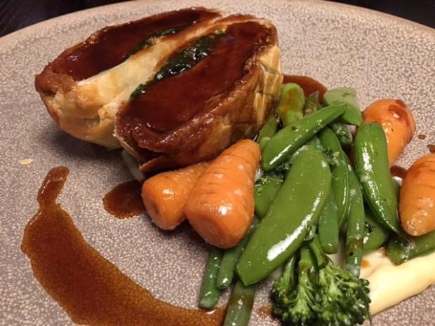 Beef Wellington [£22.95]