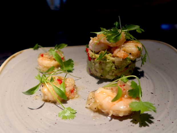 Prawn and Avocado [£8.50]