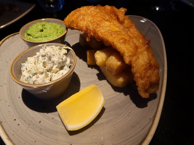 Fish and Triple Cooked Chips [£15.00]