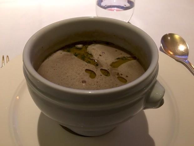 Mushroom and Truffle Soup [£9.00]