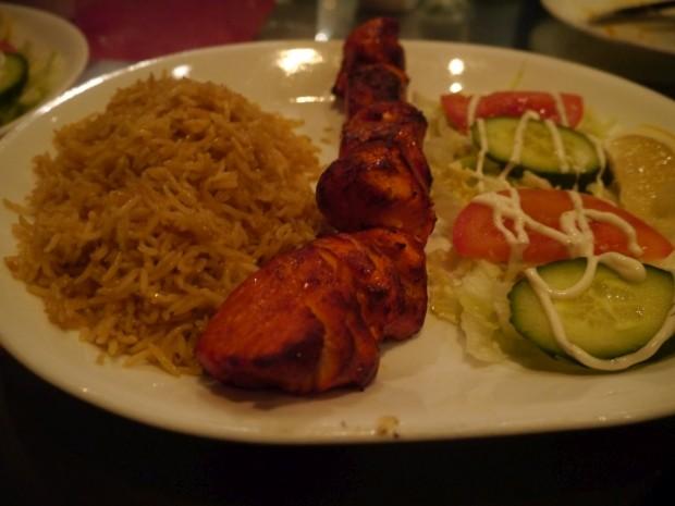 Chicken Breast Kebab [£8.50]