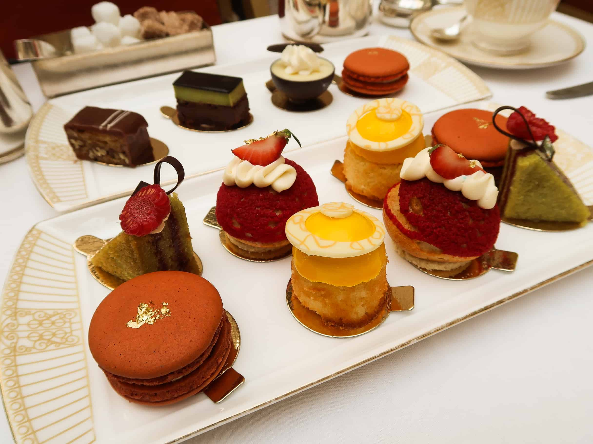 The Landmark Afternoon Tea Cakes