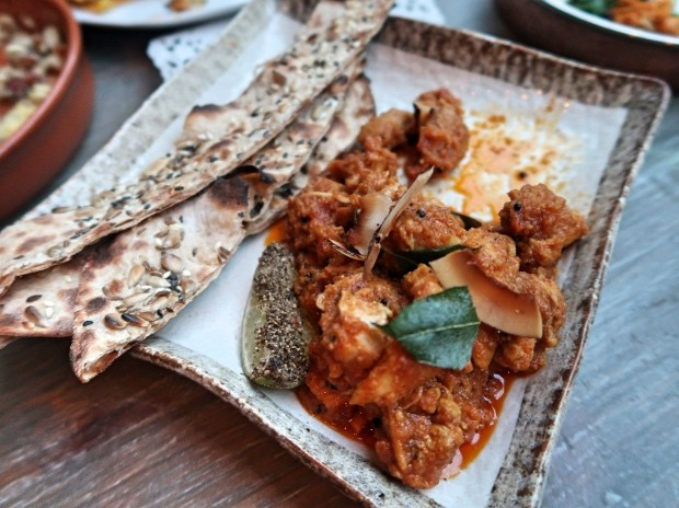 Curry Leaf and Coconut Chicken [£11.00]