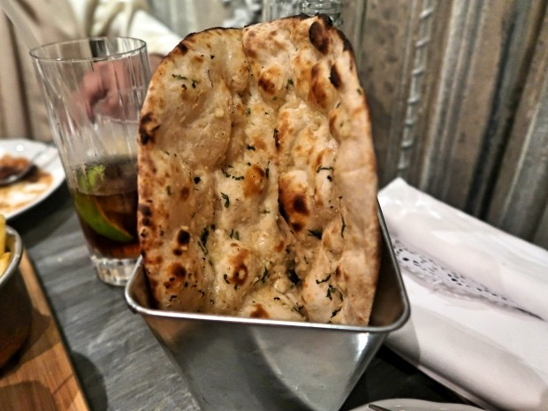 Garlic and Coriander Naan [£4.00]